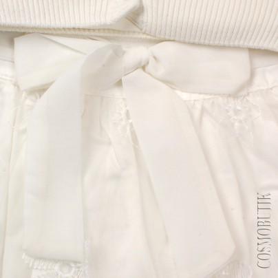 Костюм из юбки лонгслива и кардигана