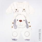 Модный костюм для новорожденного