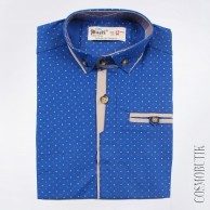 Рубашка для мальчика с коротким рукавом от компании Musti