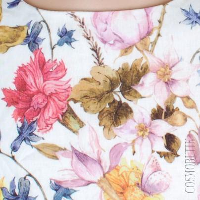 Платье для девочки из ситца