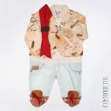 Оригинальный костюм боди для новорожденного