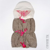 Конверт для новорожденного Bebecix c ярким принтом