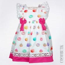 Ситцевое платье Gamzelim-10796