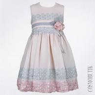 Праздничное платье без рукава
