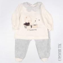 Костюм из кофты и штанов для новорожденного Serkon
