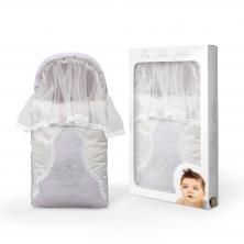 Лиловый конверт для новорожденного Eco line fabrik