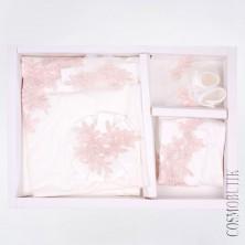 Набор для новорожденного молочного цвета