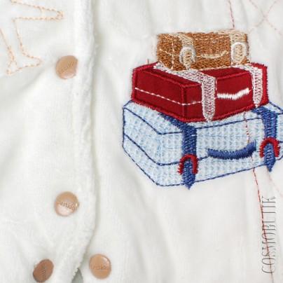 Теплый комбинезон для новорожденного от компании Bestido