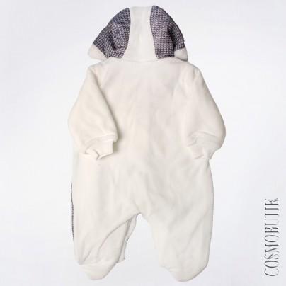 Теплый комбинезон с утеплением  для новорожденного