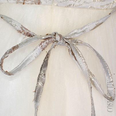 Нарядное платье для девочки с пышной юбкой