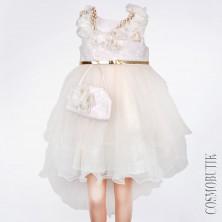 Детское платье с сумкой