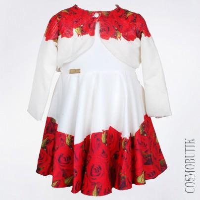Платье для девочки с болеро