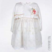 Белое платье с болеро