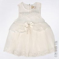 Платье для маленькой девочки с ободком