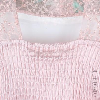 Длинное платье без рукава