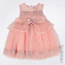 Платье для девочки с ободком