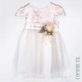 Нарядное платье с розами