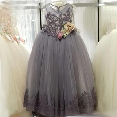Платье для девочки в пол