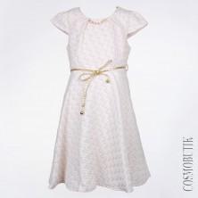 Нарядное хлопковое платье