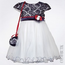 Вечернее платье с сумочкой