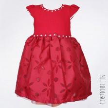 Нарядное платье красное