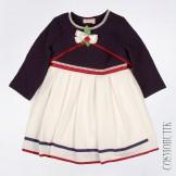 Платье с лопковым болеро