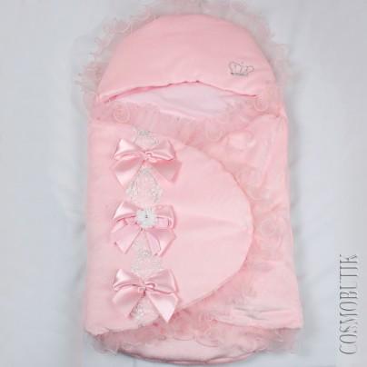 Конверт для новорожденного из велюра