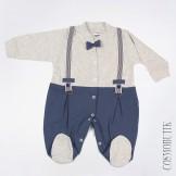 Боди для новорожденного с длинными рукавами
