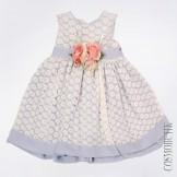 Фиолетовое платье без рукавов