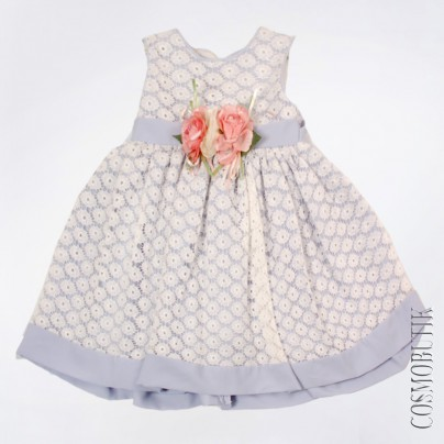 Платье для девочки фиолетовое