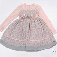 Жаккардовое нарядное платье