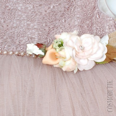 Детское платье с пышной юбкой