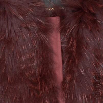 Женский жилет с мехом