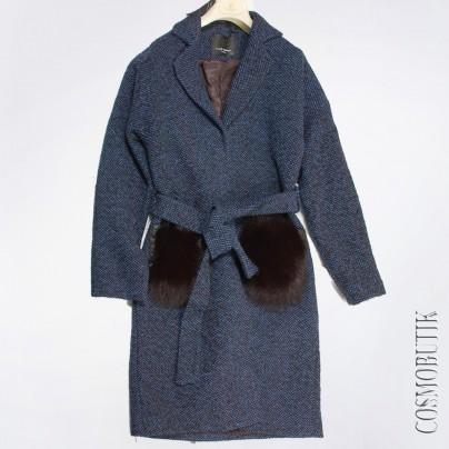 Женское Пальто с мехом