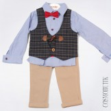 Костюм брючный для мальчика Popolin-2149-112
