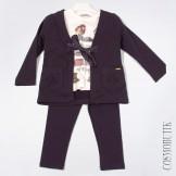 Модный костюм-тройка со штанами