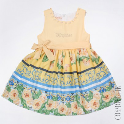 Платье желтое Majstore-4095-12