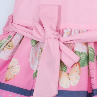 Платье розовое Majstore-4095-13