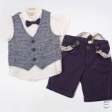 Синий костюм для мальчика Bebus-5441-11
