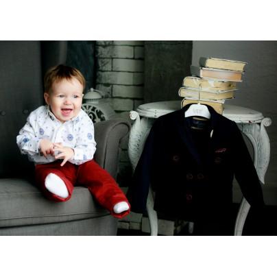 Модный костюм для маленького мальчика