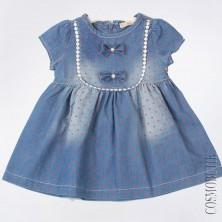 Платье из джинсовой ткани