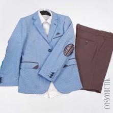 Хлопковый костюм для мальчика на выпускной от компании Roma kids