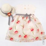 Платье с шляпой Lilax-5878