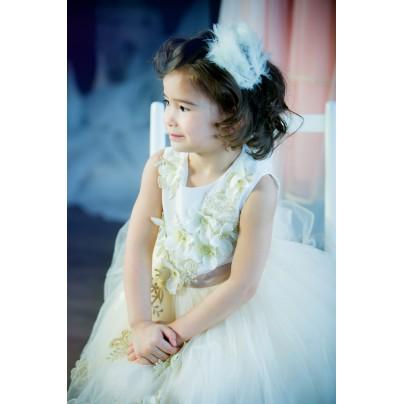 Нарядное пышное платье для девочки