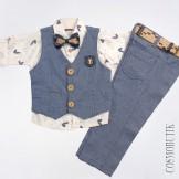 Стильный костюм  для мальчика Hanko-4766