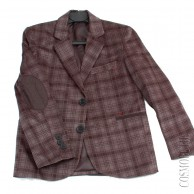 Вельветовый пиджак приталенного кроя