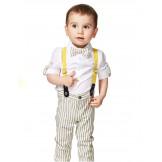 Костюм для мальчика летний с подтяжками