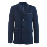 Школьный пиджак темно-синего цвета