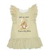Платье без рукавов, оливковое