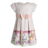 """Платье """"маленькая принцесса"""" бежевое"""